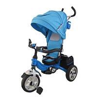 Детский трехколесный Велосипед M 2732A-2 голубой