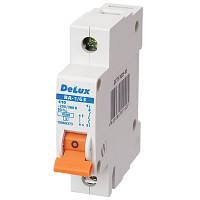 Автоматический выключатель 1-полюсный Delux ВА-1/63 С25