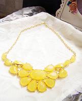 Ожерелье воротник Геометрия желтый