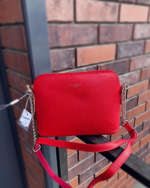 f6b31712a633 Красная сумочка через плечо David Jones: продажа, цена в Волынской ...