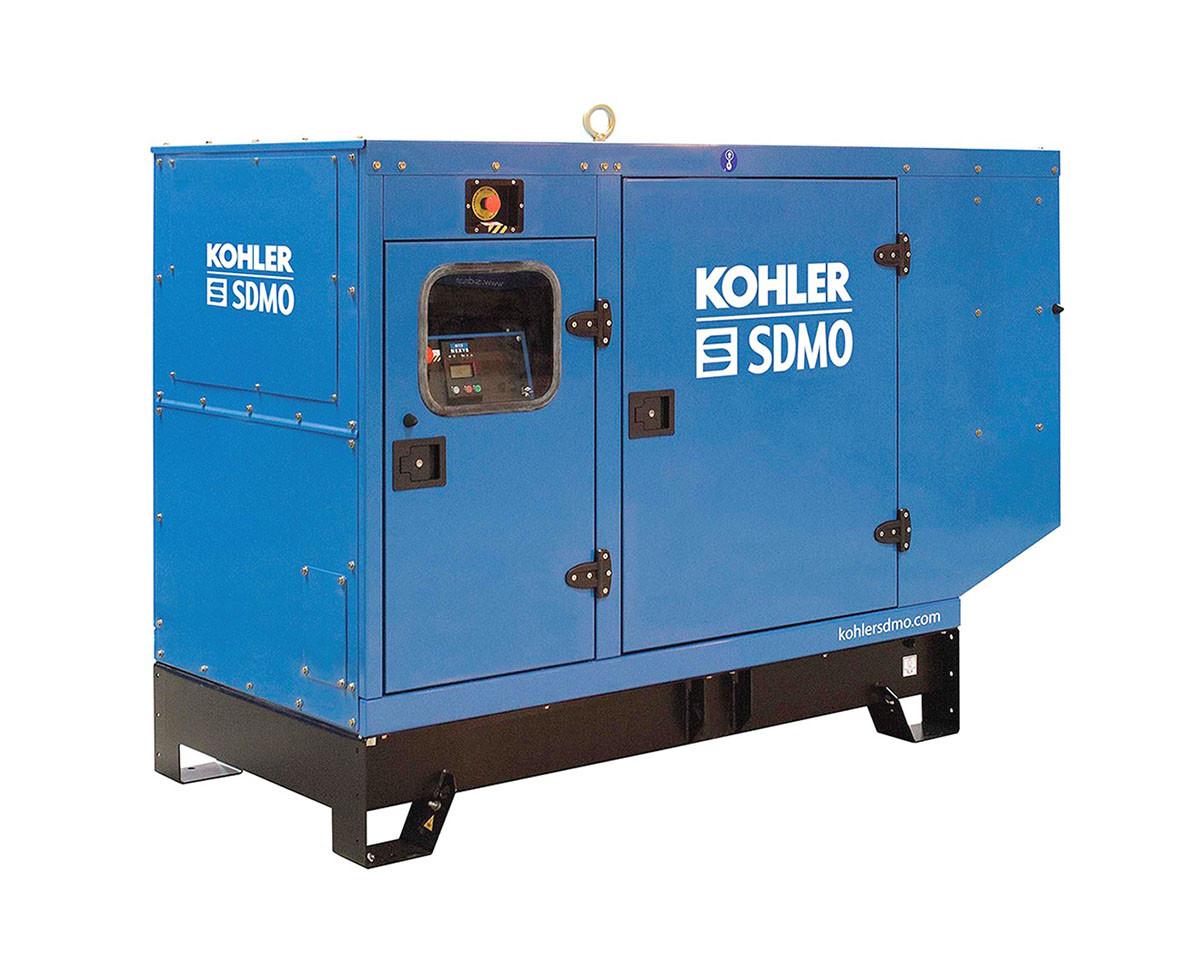 Трьохфазний дизельний генератор SDMO J88K (70 кВт) з автоматичним запуском