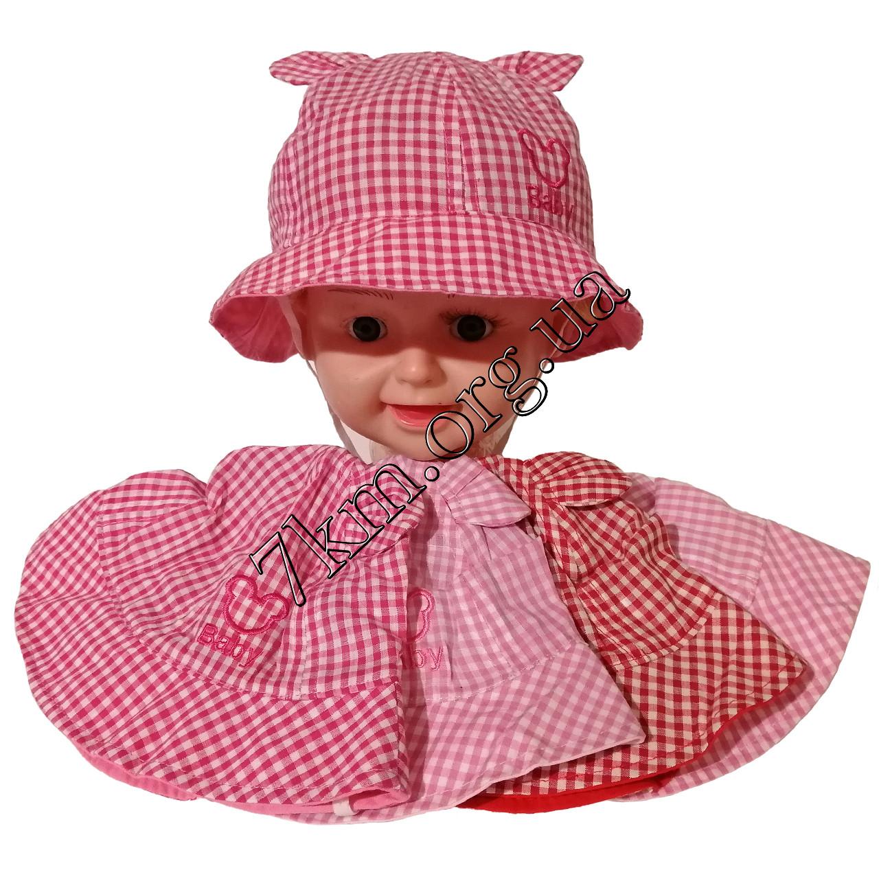 """Панамка детская для девочек """"Baby"""" 48-50 р. хлопок Оптом 7866"""