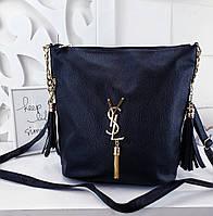 016d21399a0a Женская сумка Louis Vuitton, YSL (копия), из структурной эко кожи