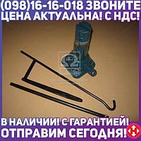 ⭐⭐⭐⭐⭐ Домкрат механический телескоп 2т c вырезом на подложке, H=210/485 <ARMER>  ARM-SP3