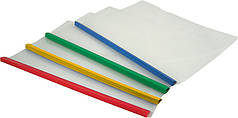 Папка-скоросшиватель А4 Axent 1417 пластиковая с планкой-прижимом, 10 мм