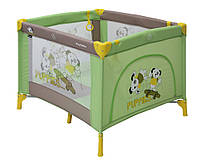 Манеж Bertoni PLAY STATION Green&Beige Puppies