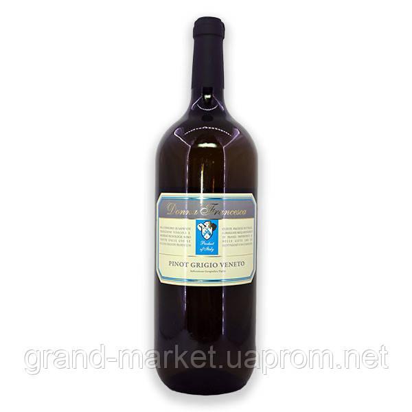 Вино Donna Francesca Pinot Grigio IGT Veneto, 1.5 l