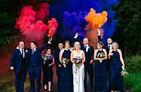 Цветной дым (набор 6 цветов) ДК-60с
