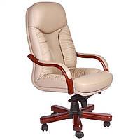Кресло Буффало НВ, кожа бежевая (6231-B BIEGE LEATHER+PVC)