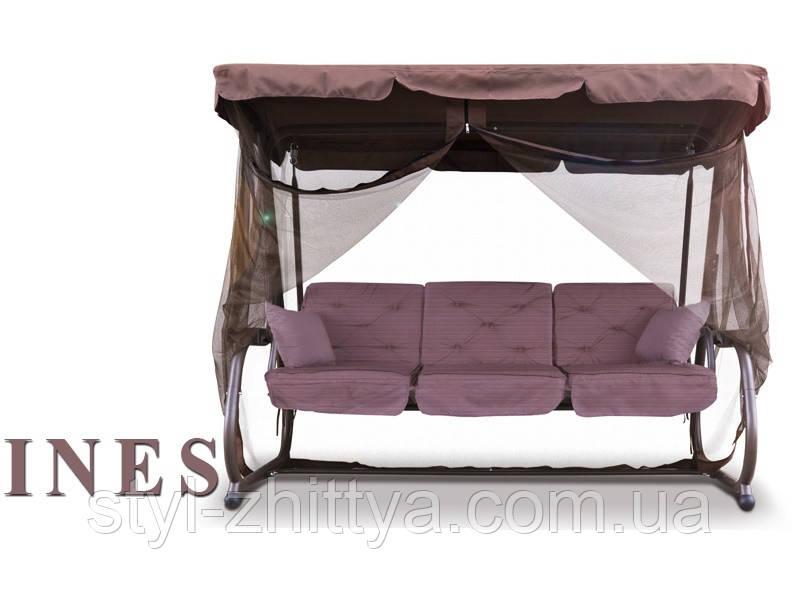 Гойдалка-диван 200 см. на 4-х, 320 кг + москітна сітка