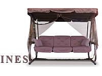 Гойдалка-диван 200 см. на 4-х, 320 кг + москітна сітка, фото 1