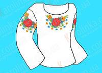 Заготовка для детской сорочки КБС - 04(детская 0-3 лет)