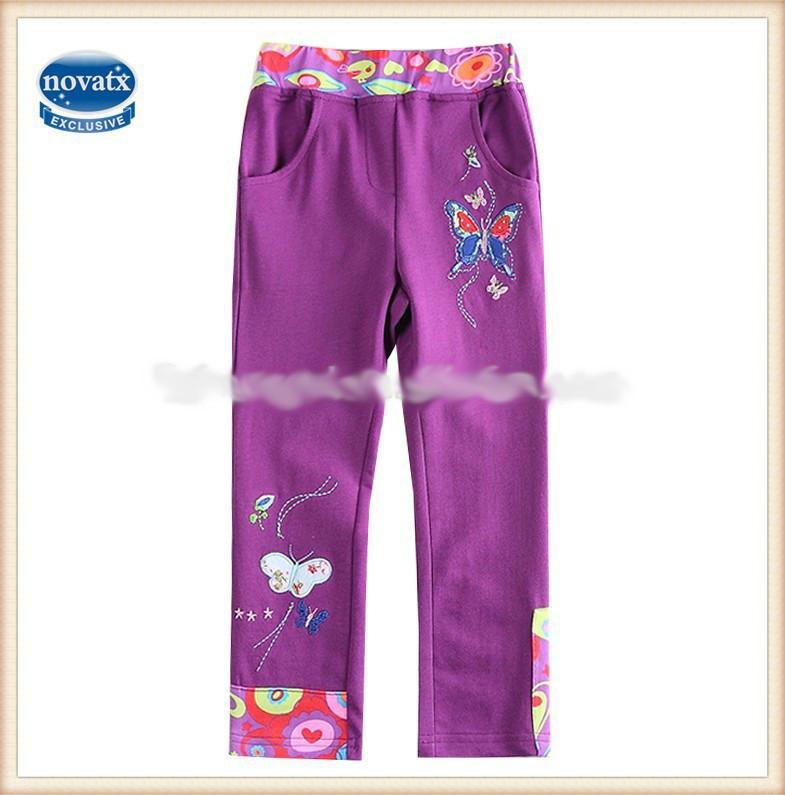 Детские брюки трикотажные на девочку