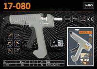 Пистолет клеевой 11.2мм, 220В/80Вт., NEO 17-080