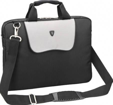 """Замечательная сумка для ноутбука 16"""" Sumdex Impulse PON-441BK черный, PON-441PG серый"""