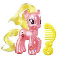 Пони фигурка Май Литл Пони Черри Берри кристальная My Little Pony Explore Equestria Cherry Berry Hasbro
