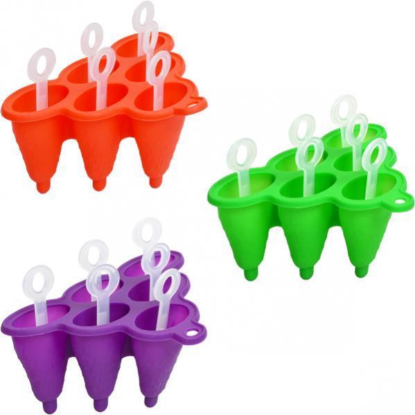 Форма силиконовая для замороженного сока 19×13×9 см ck1-397