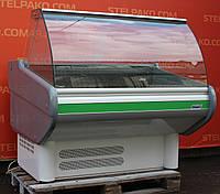 Холодильна вітрина ковбасна «Mawi» 1.3 м. (Польща), Широка викладка 70 см, Б/в, фото 1