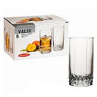 Набор высоких стаканов Pasabahce Valse 290 мл. 6 шт