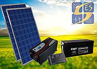 Автономная станция 0,75 кВт с инвертором 1,5 кВт.