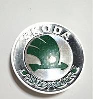 Заглушка оси диска колеса Шкода Skoda Октавия Фабия Суперб Румстер Йети  6U0601151L SkodaMag, фото 1