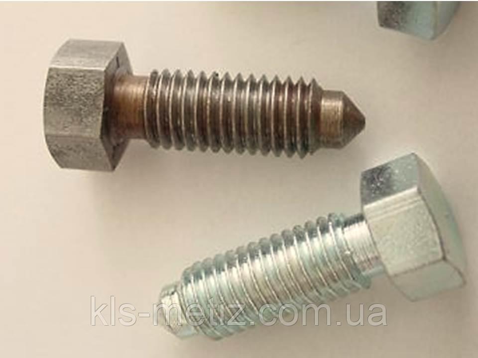 Болт нержавеющий  с уменьшенной головкой и цапфой DIN 561 А2