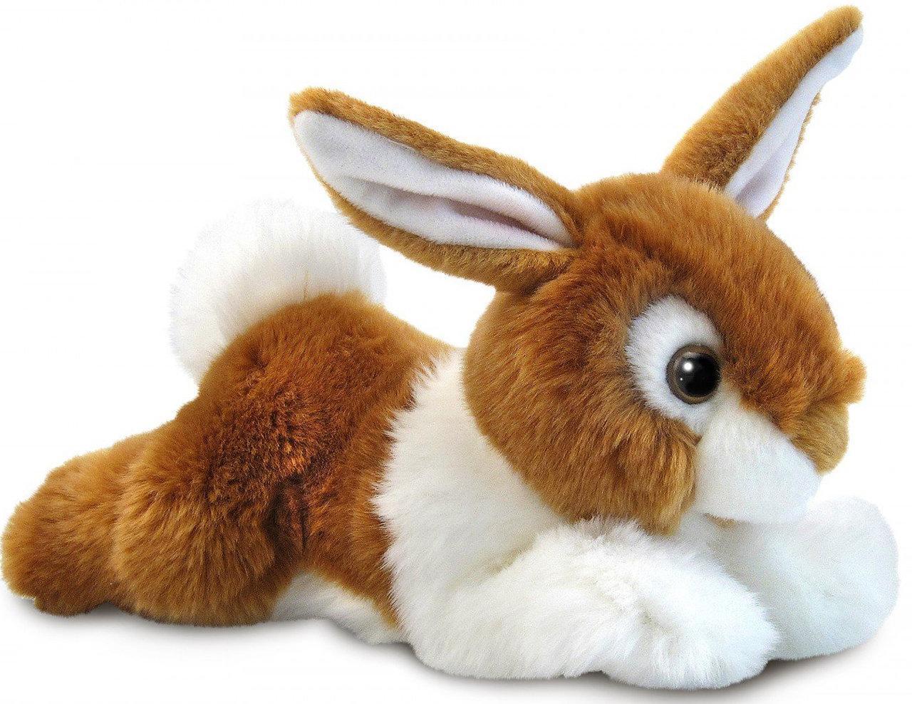М'яка іграшка Aurora Кролик Рудий 25 см (150236A)