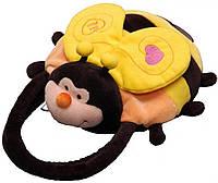 Мягкая игрушка Aurora Сумка Пчелка 28 см (5A077A)