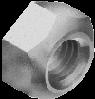 Гайка М20х1.5 самостопорная шестигранная метрическая, мелкий шаг резьбы, сталь, кл. пр. 8, ЦБ (DIN 980V)