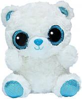 Мягкая игрушка Aurora Yoo Hoo Полярный медведь Cияющие глаза 20 см (170069B)