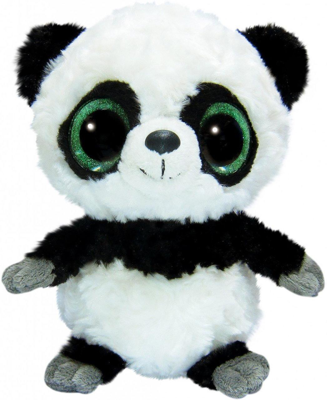 Мягкая игрушка Aurora Yoo Hoo Панда Cияющие глаза 23 см (80624D)