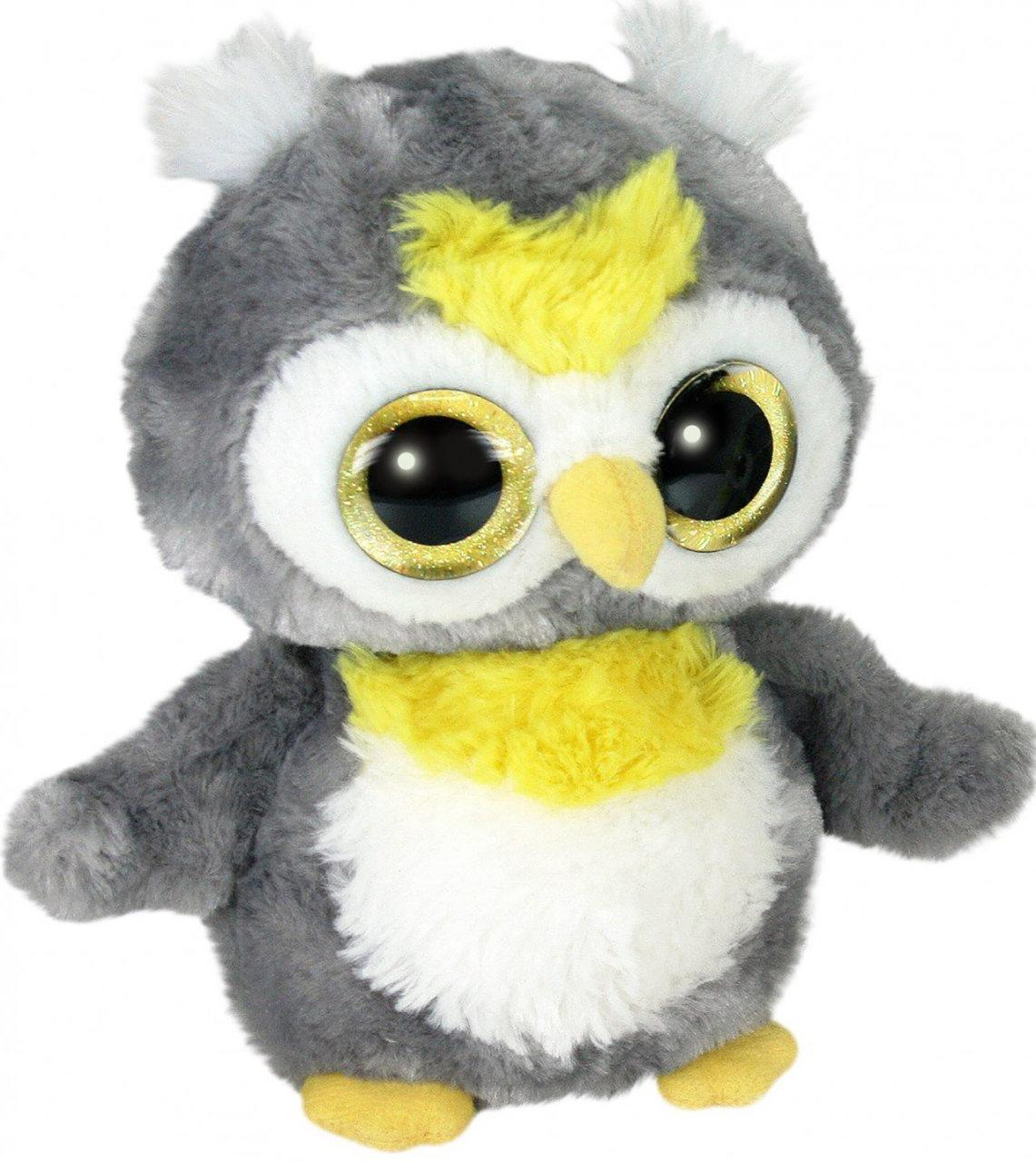 Мягкая игрушка Aurora Yoo Hoo Сова Cияющие глаза 23 см (80781F)