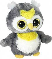 М'яка іграшка Aurora Yoo Hoo Сова Сяючі очі 23 см (80781F)