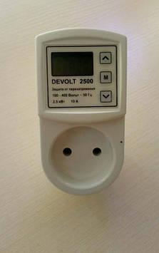 Устройство защиты розеточного типа 2500Вт ТМ Devolt