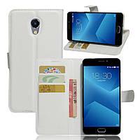 Чехол-книжка Litchie Wallet для Meizu M5 Note Белый