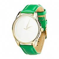 Часы Ziz Минимализм, ремешок изумрудно-зеленый, золото и дополнительный ремешок - 142878