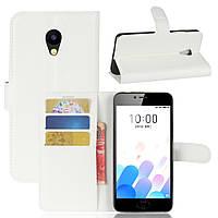 Чехол-книжка Litchie Wallet для Meizu M5S Белый