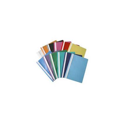 Папка-скоросшиватель А4 Economix Е31509 пластиковый, прозрачный верх, фото 2