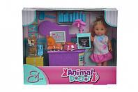 """Кукольный набор Кукла Еви """"Ветеринар для домашних любимцев"""" Simba"""