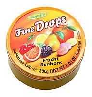 Леденцы (конфеты) Woogie Fine Drops (мелкие капли) микс фруктовый 200 г Австрия