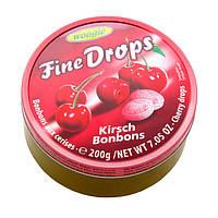 Леденцы (конфеты) Woogie Fine Drops (мелкие капли) вкус вишни 200 г Австрия
