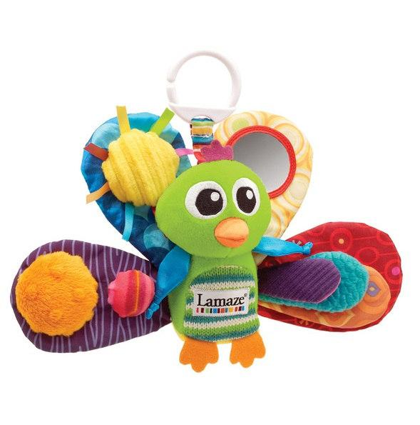 Развивающая игрушка для малышей «Павлин» LC27013 Lamaze