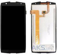 Дисплей Oukitel WP5000|оригинал|с сенсорным стеклом|черный
