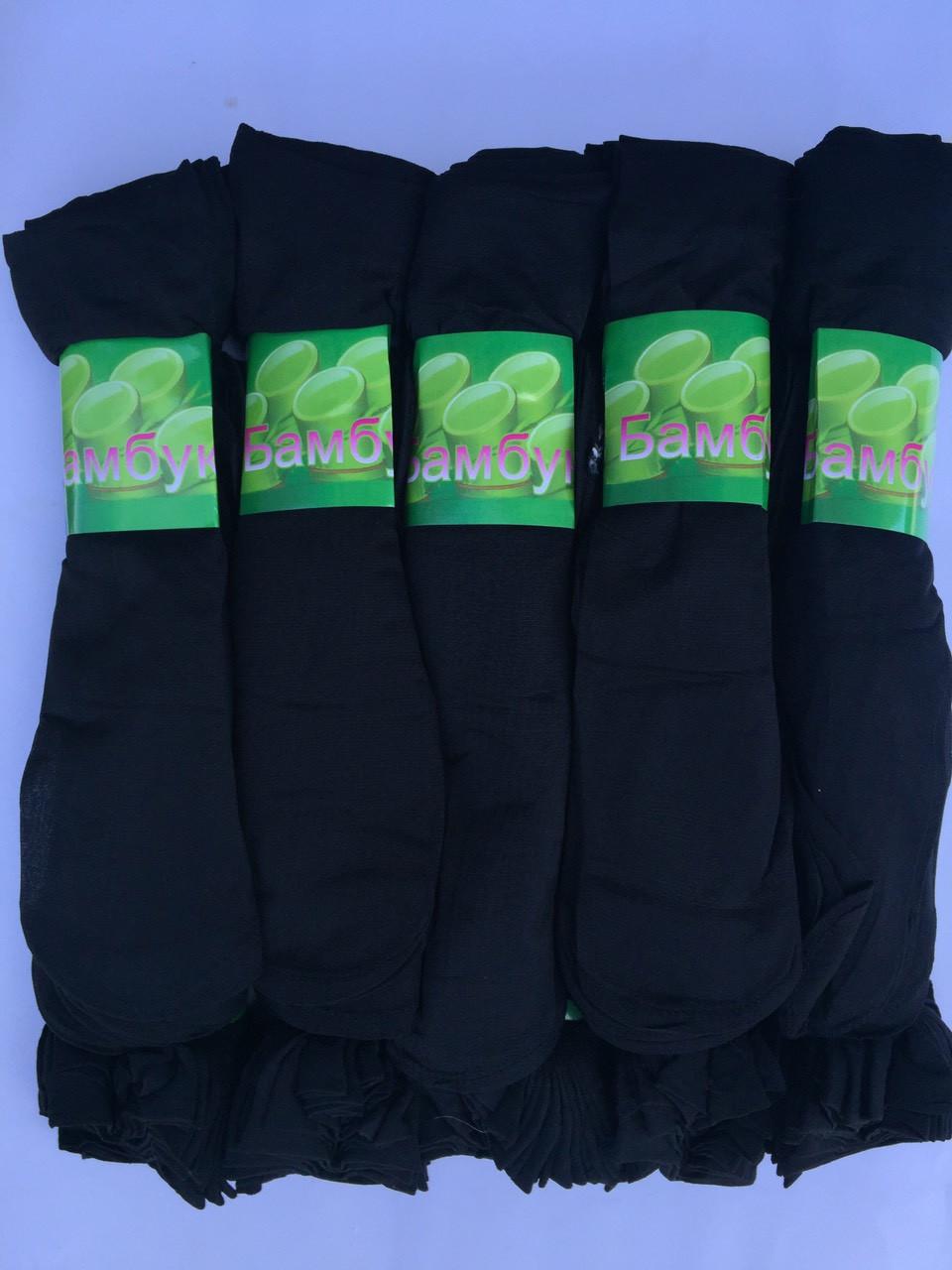 Женские капроновые носки 30Den Черные