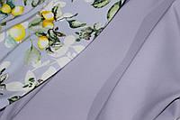Светло серый. Ткань креп костюмка барби однотонная №325, фото 1