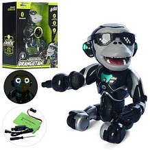 KMQ2 Животное   обезьянка26см,аккум,муз,свет,Bluetooth-колонка,USBзар,в кор-ке,26,5-32,5-13см