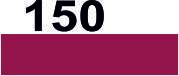 Нитки мулине для вышивания DMC в каталоге (Франция) 150 Пыльная роза, ультра очень тёмный (оч. т.)
