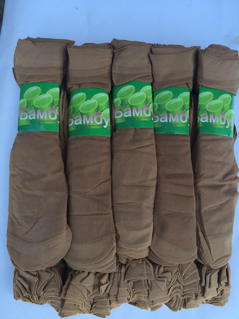 Женские капроновые носки 30Den Бежевый