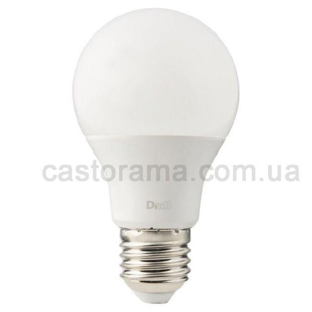лампа Led Diall королей A60 E27 10 5 в 1055 лм молочный оттенок тепла продажа цена в луцке лампочки от тов Castorama 927554988