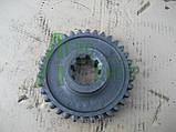 Колесо зубчатое скользящее первой передачи и заднего хода трактора ЮМЗ z-34 36-1701112-А2, фото 3